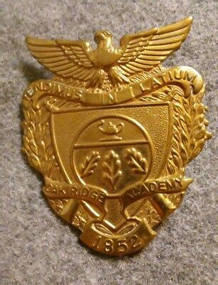 Oak Ridge Military Academy Hat Badge ROTC