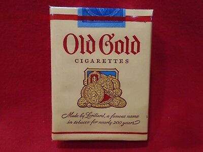1952 Old Gold Cigarette Pack  Near Mint! Sealed Rare! Series 122 Stamp