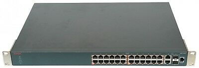 Avaya ERS3526T-PWR+ NoPC 24 Port 370W PoE+ Ethernet Routing Switch AL3500A11-E6