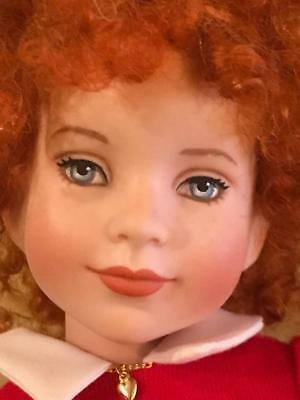 Orphan Annie  By Robert Tonner Porcelain Doll Signed Limited Edition