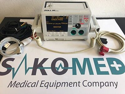 ZOLL M Series Monophasic 3 Lead ECG Pacing Spo2 / TESTED