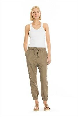 Country Road Linen/Cotton Pocket Detail Pant, Size 10 AS NEW