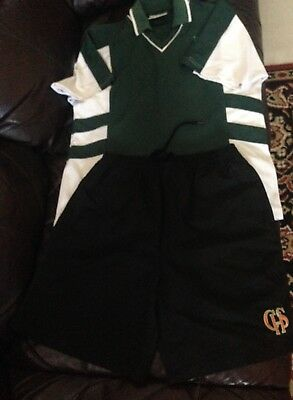 Caringbah High School Sport Uniform T-Shirt And Short Two Clothes Sale