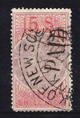 New South Wales;Revenue.1868 Q Victoria Stamp Duty 15/- Shilling  Superb