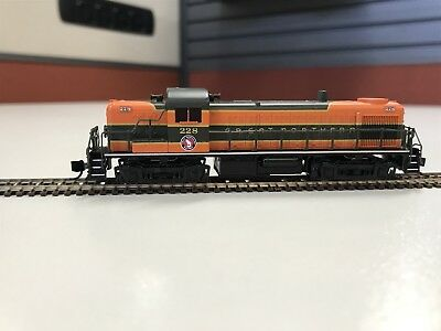 Atlas N Scale RS3 Locomotive Great Northern (DCC fitted)