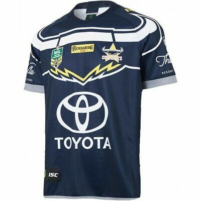 NQ Cowboys NRL 2018 Home ISC Jersey Kids Sizes 6-14! In Stock!