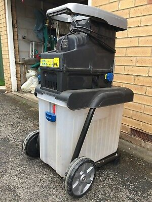 Mac Allister Electric Garden Shredder MQS2800 In Need Of Attention