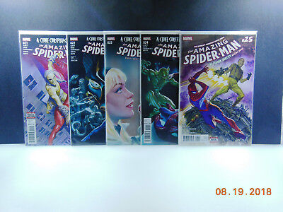 Amazing Spider-Man #794 795 796 797 798 799 800 NM Marvel Comics 2017 Lot Set 7