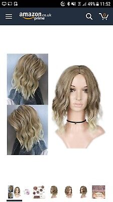 Hanne Ladies Ombre Blonde Curly Wig