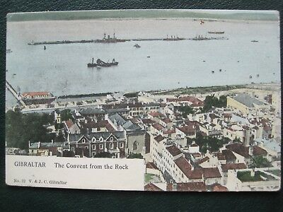Gibraltar:  The Convent From The Rock.     Postally Used In 1905.