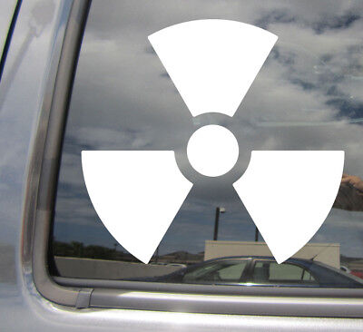 Atomic Symbol Car Window Decal Bumper Sticker Atoms Nuclear Chemistry Science397