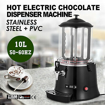 Hot Chocolate Dispenser 10L Chocolate Coffer Mixer Stainless Steel