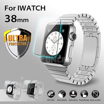 AirGlass Glasfolie Apple Watch Series 3 (38mm) Panzerfolie Display Schutzglas 9H
