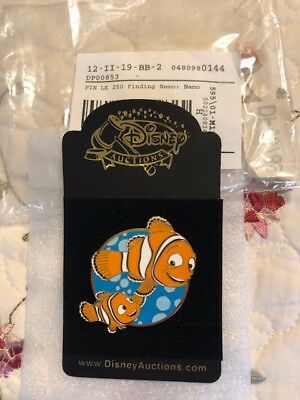 Disney Pins Finding Nemo LE 250 Nemo & Marlin