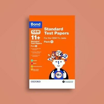 Bond CEM DURHAM UNI 11+ Standard Test Papers Pack 1 Eng+Math+VR+NVR ANSWERS INC.