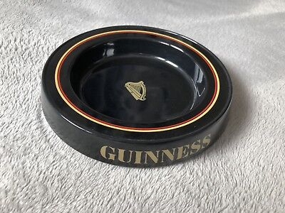 Vintage Guinness 1980's Melamine Collectable Ashtray