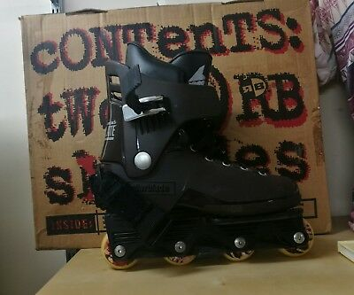 Rollerblade RB Edwards chocolates Inline skates with box vintage rare aggressive