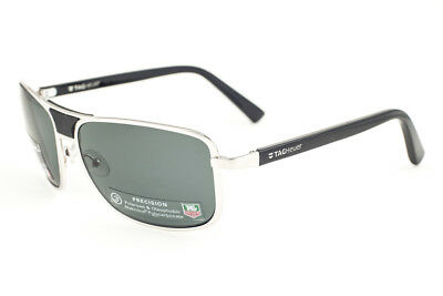 b345c99e17d Tag Heuer Ayrton Senna 983-304 Pure Black   Precision Green Polarized  Sunglasses