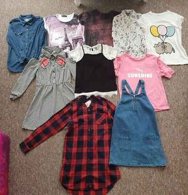 Bundle Of Girls Clothing Age 9 10 11 Years - 10 Items - River Island Next H&M 💖