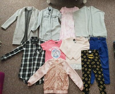 Girls Bundle Of Clothes - Age 7 8 9 - 10 Items - River Island Next Primark H&M💖