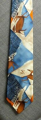 Authentic Vintage HUGO BOSS Silk Tie made in Italy