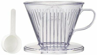 Kalita: [4-7] people for plastic coffee dripper wide brim type 103-DL # 06003