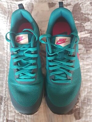 Nike 'Elite Shinsen' Trainers Jade Green & Pink - Size 5/38.