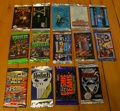Booster Sammlung OVP Tomb Raider, X-Files, Turtles, Punisher... YouTube Unboxing