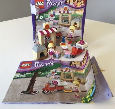 Lego Friends 41092 Stephanies Pizzeria Instructions Booklet Manual