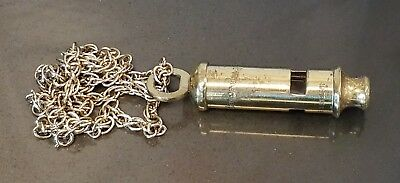 Vintage POLICE WHISTLE  THE METROPOLITAn made in England