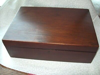 Antique Lap Writing Box With Pens