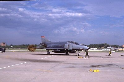 Usaf F-4E 68-0462 110 Tfs Sl Original Color Slide Kodachrome