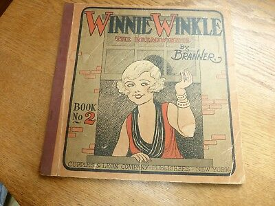 1931 comic book Winnie the Winkle by Branner Book no. Cupples & Leon