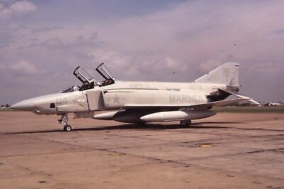 Usmc Rf-4B 151977 Vmfp-3 Original Color Slide Kodachrome