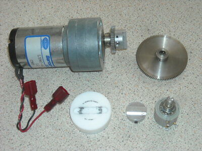 12V DC gear motor approx 100 rpm.