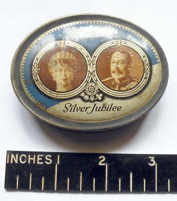 Lightbown's pastille tin for Silver Jubilee 1935
