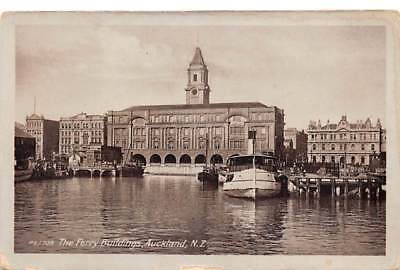 RPPC ~ Auckland,  NEW ZEALAND ~ The Ferry Buildings ~ Tanner Bros Ltd