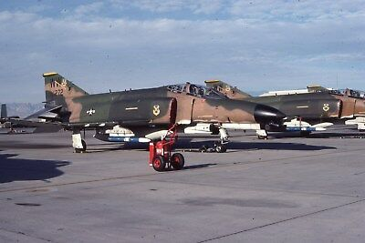 Usaf F-4G 69-7272  563 Tfs Ww Original Color Slide Kodachrome