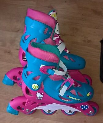 Hello Kitty Inline Skates 13J-3 and Skate Protection Pack