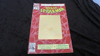 Web of Spider-man 90 Holo foil cover Die spinne