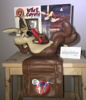 Wile E. Coyote & Road Runner Remote Control Holder TV organizer for CHAIR ARM