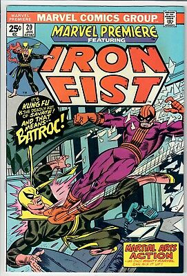 Marvel Premiere #20 EARLY IRON FIST -- SUPER NICE COPY!