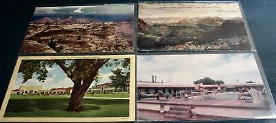 Lot-30 antique & vintage ARIZONA postcards. Most 1915-early 70s. 4 stamped