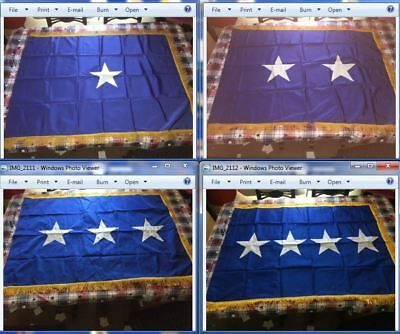 Air Force 1,2,3 & 4 General Flags - Bemberg Rayon