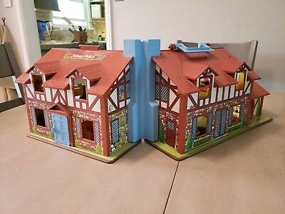 Fisher-Price doll house model #952 (1980), retro, used, but good condition