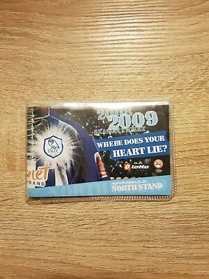 Sheffield Wednesday Season Ticket. 2008/09