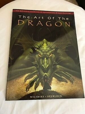 The Art of the Dragon fantasy art painting book