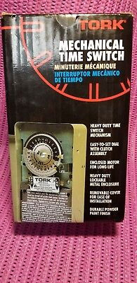Tork 1103 24 Hour Time Switch~DPST~120VAC~40A~