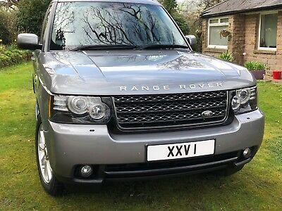 LAND ROVER RANGE ROVER 4.4 TDV8 Auto 2012 Orkney Grey - FSH - One Previous Owner