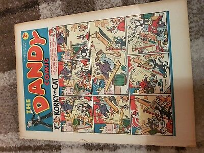 old dandy comics from 1940 consecutive issues 146 to 161 sept to dec 1940